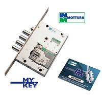Замок врезной дверной Mottura 52.Y535M My Key (ручка покупается отдельно)