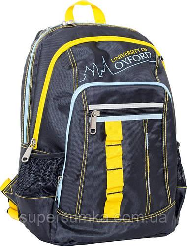 """Городской, стильный рюкзак """"Oxford"""" 552256 черный"""