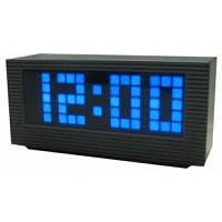 Часы настольные оригинальные vst 2191-5, с дискретным lcd-дисплеем, синий электронный циферблат, будильник