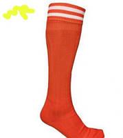 Детско-подростковые (9-16 лет) (р.35-41) футбольные гетры ''классика'' (х/б, нейлон)-красные, черные