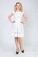 Женское белое платье от производителя