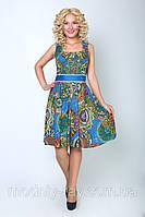 Платье материал штапель набивной
