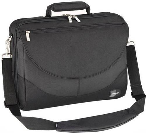 """Сумка для ноутбука 15,6"""" классического стиля Sumdex Passage PON-302BK черный"""