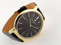 Мужские часы Vacheron Constantin кварцевые, цвет корпуса gold, черный циферблат