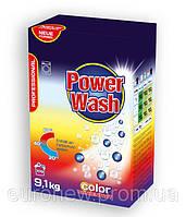 Бесфосфатный стиральный порошок Power Wash Professional для цветного белья, 9,1 кг
