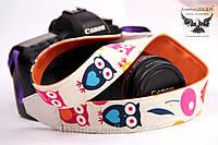 Ремень для фотоаппарата совы