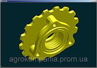 Звездочка СЗГ 00.123 сеялки СЗ, СЗП, СЗТ, фото 1