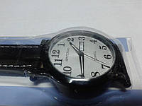 "Кварцевые часы ""Спутник 264"" на ремешках с датой."