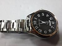 "Кварцевые часы ""Спутник 303"" на браслете с датой."