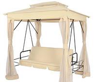Садова гойдалка hollywood, з функцією ліжка + протимоскітна сітка