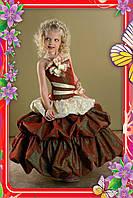 Нарядное платье Баллон 2721 бордо