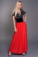 Платье шифоновое мод 433-2,размер 46-48,48-50