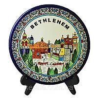 Настенная керамическая тарелка