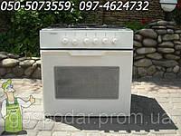 Встроенная техника бв из Германии (белая газовая поверхность + электрическая духовка)