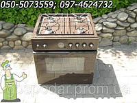 Встройка, врезная поверхность с духовкой Buderus (газовая поверхность и электро духовка с конвекцией) Германия
