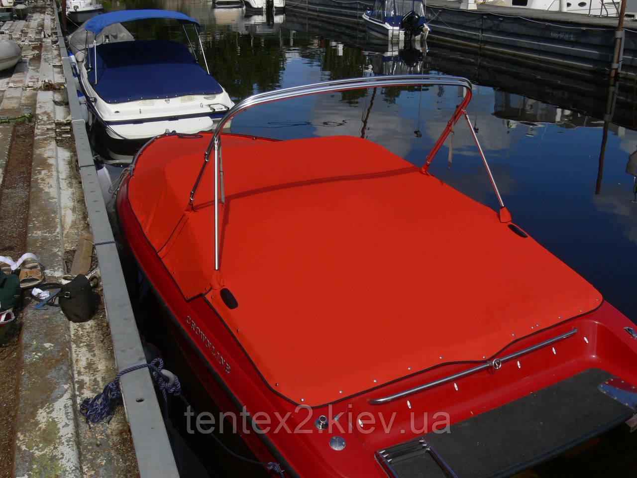 стояночный тент на лодку фото