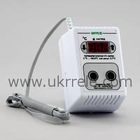 Терморегулятор для инкубатора цифровой двухпороговый (10А/2кВт) РТ-10/П01
