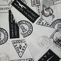 Ткань для штор в стиле кич марки
