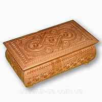 Шкатулка деревянная сувенирная