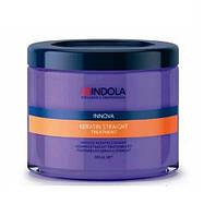 Маска для волос - кератиновое выпрямление волос Keratin Straight Indola 200 мл.
