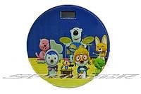Весы новые электронные, стекло с рисунком. 2009В