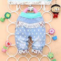 Детские джинсы-капри для девочек
