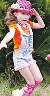 Детские летние комбинезоны для девочек