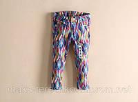 Детские модные джинсы для девочек