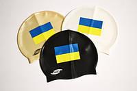 Шапочка для плавания с Украинским флагом.FL