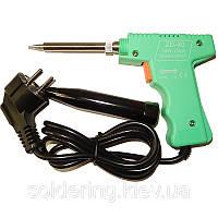 Паяльник-пистолет пластиковый  ZD-80A (220V, 30-130W)