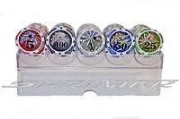 Набор покерных фишек с номиналом