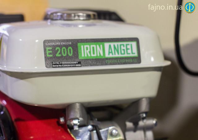 Купить бензиновый двигатель Iron Angel Е200 фото 8