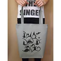 Сумка с нашивкой Рисунок. Купить сумки оптом и в розницу по доступной цене.