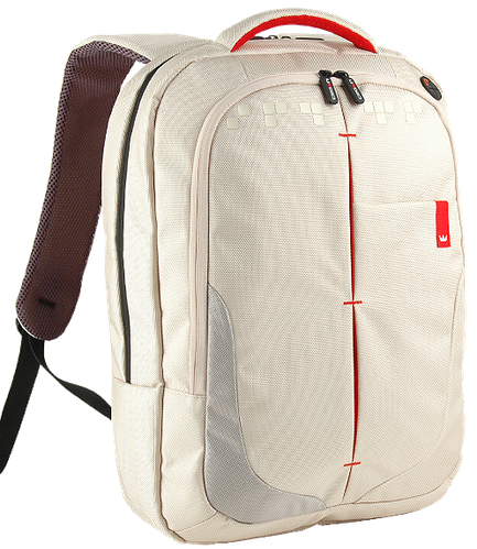 """Рюкзак для ноутбука 15,6"""" Crown Genuine, BPG4415W кремовый"""