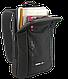 "Однолямочный рюкзак для ноутбука 15,6"" Crown Hymn Series, BPH1115B черный, фото 5"