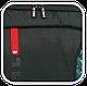 "Однолямочный рюкзак для ноутбука 15,6"" Crown Hymn Series, BPH1115B черный, фото 7"