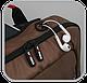 """Рюкзак однолямочный для ноутбука 15,6"""" Crown Hymn Series, BPH1115BN коричневый, фото 10"""