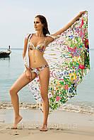 Купальник женский с пуш-ап ,плавки с регулировкой объёма