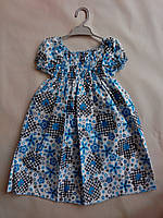 Платье легкое для девочек  5, 6, 7 лет