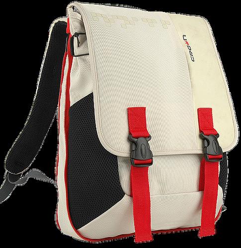 """Молодежный рюкзак для ноутбука 15,6"""" Crown Harmony Series, BPH3315WR кремовый (белый)"""