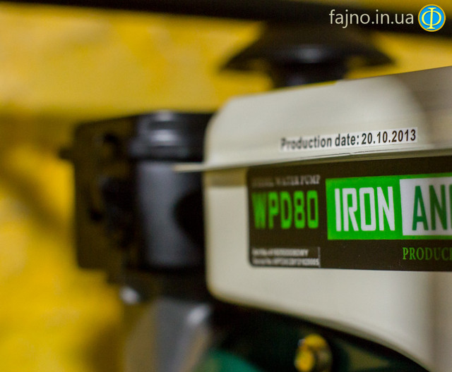 Дизельная мотопомпа Iron Angel WPD80 фото 2