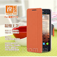Чехол-книжка MOFI для телефона Lenovo P770 оранжевый