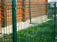 Забор из панелей в ПВХ д.5.5 оц 1,53м*2,5м