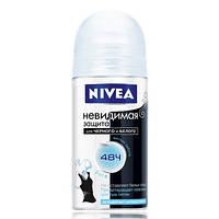 Дезодорант Nivea Невидимая защита от черного и белого Pure 50 мл.