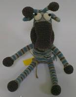 Детская Игрушка Жираф вязаный крючком