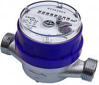 """Счетчик  JS-1,5 ХВ Ду 15 1/2"""" для холодной воды Apator Powogaz  одноструйный крыльчатый"""