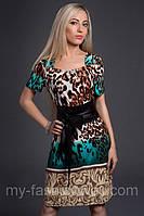 Платье женское с модным принтом