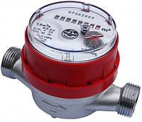 """Счетчик JS90-1,5 ГВ Ду 15 1/2"""" для горячей воды Apator Powogaz одноструйный крыльчатый"""