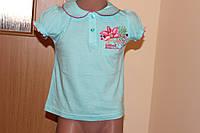 Летняя футболка для девочки Размер 80, 90 см