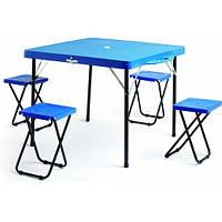 Набор для пикника TO-8833 стол + 4 стула